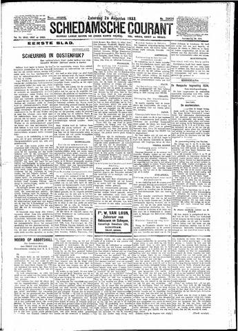 Schiedamsche Courant 1933-08-26