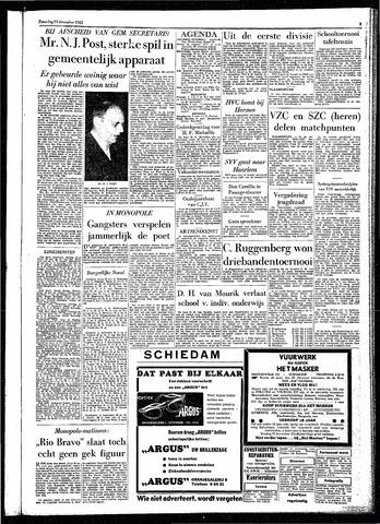 Rotterdamsch Parool / De Schiedammer 1961-12-23