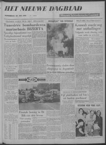 Nieuwe Schiedamsche Courant 1961-07-20