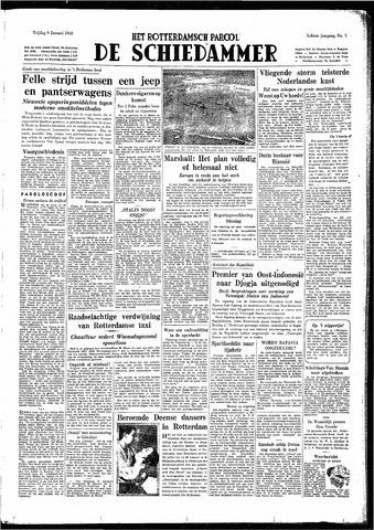 Rotterdamsch Parool / De Schiedammer 1948-01-09