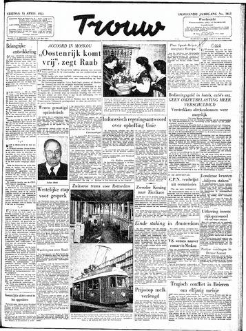 Trouw / De Rotterdammer 1955-04-15