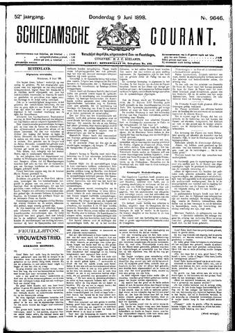 Schiedamsche Courant 1898-06-09