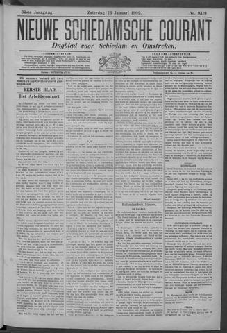 Nieuwe Schiedamsche Courant 1909-01-23