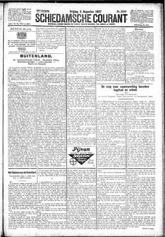 Schiedamsche Courant 1927-08-05