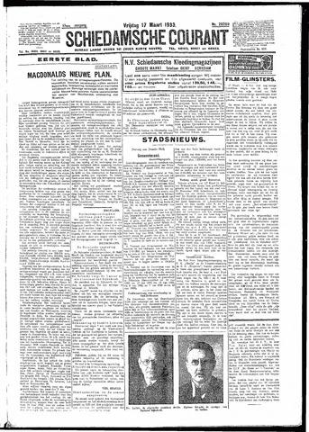 Schiedamsche Courant 1933-03-17
