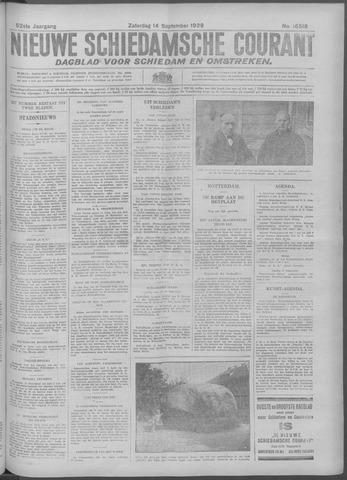 Nieuwe Schiedamsche Courant 1929-09-14