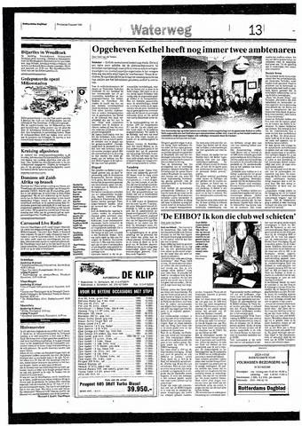 Rotterdamsch Nieuwsblad / Schiedamsche Courant / Rotterdams Dagblad / Waterweg / Algemeen Dagblad 1993-01-28