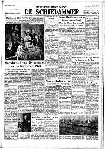 Rotterdamsch Parool / De Schiedammer 1949-10-13