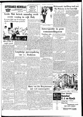 Rotterdamsch Nieuwsblad / Schiedamsche Courant / Rotterdams Dagblad / Waterweg / Algemeen Dagblad 1964-08-21