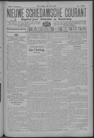 Nieuwe Schiedamsche Courant 1918-07-10