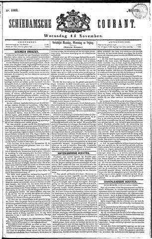 Schiedamsche Courant 1866-11-14