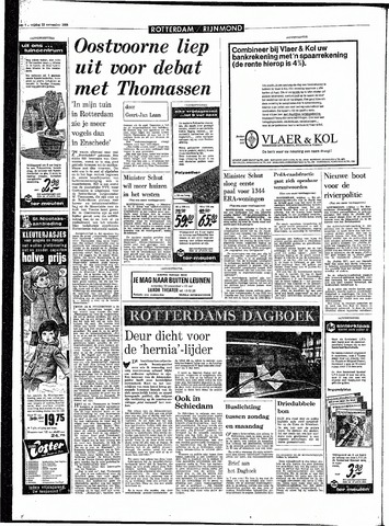 Rotterdamsch Parool / De Schiedammer 1968-11-22