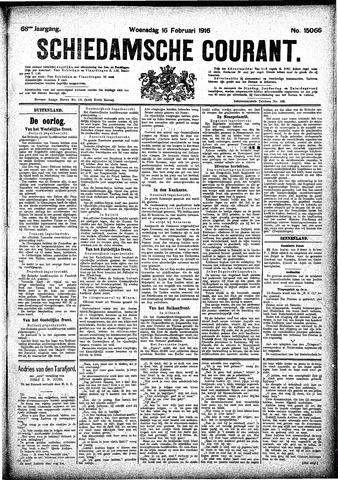 Schiedamsche Courant 1916-02-16