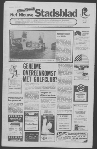 Het Nieuwe Stadsblad 1975-04-16