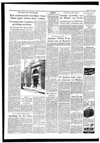 Rotterdamsch Parool / De Schiedammer 1955-05-13
