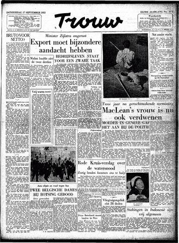 Trouw / De Rotterdammer 1953-09-17