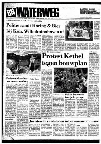 Rotterdamsch Nieuwsblad / Schiedamsche Courant / Rotterdams Dagblad / Waterweg / Algemeen Dagblad 1987-08-24