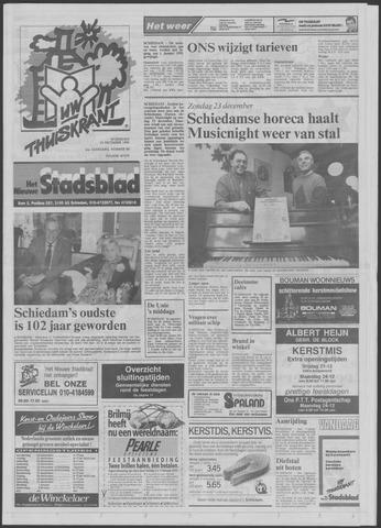 Het Nieuwe Stadsblad 1990-12-19