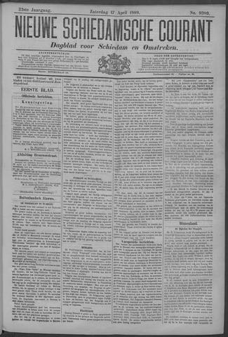 Nieuwe Schiedamsche Courant 1909-04-17