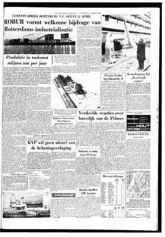 Rotterdamsch Nieuwsblad / Schiedamsche Courant / Rotterdams Dagblad / Waterweg / Algemeen Dagblad 1966-03-12