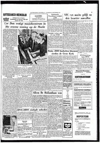 Rotterdamsch Nieuwsblad / Schiedamsche Courant / Rotterdams Dagblad / Waterweg / Algemeen Dagblad 1965-09-20