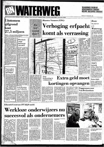 Rotterdamsch Nieuwsblad / Schiedamsche Courant / Rotterdams Dagblad / Waterweg / Algemeen Dagblad 1985-12-27