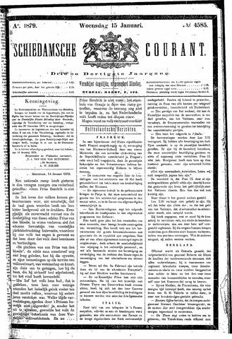 Schiedamsche Courant 1879-01-15