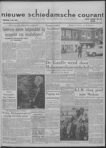 Nieuwe Schiedamsche Courant 1958-07-02