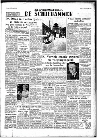 Rotterdamsch Parool / De Schiedammer 1949-01-18