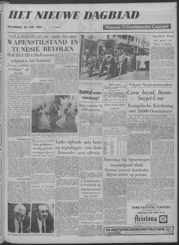 Nieuwe Schiedamsche Courant 1961-07-24