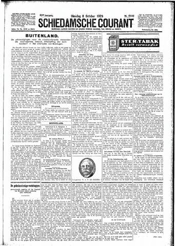 Schiedamsche Courant 1929-10-08
