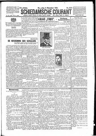 Schiedamsche Courant 1931-11-04