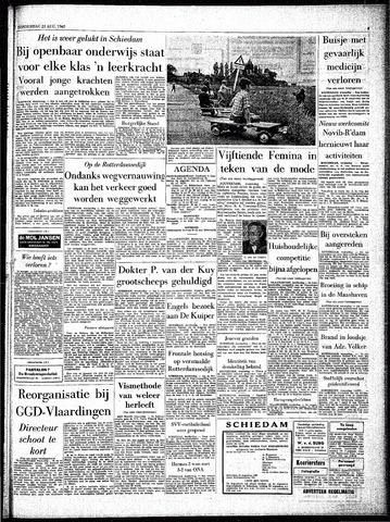 Rotterdamsch Parool / De Schiedammer 1962-08-23