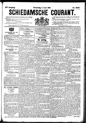 Schiedamsche Courant 1916-04-05