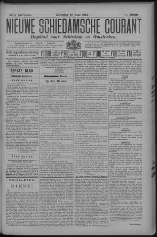 Nieuwe Schiedamsche Courant 1913-06-28