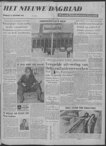 Nieuwe Schiedamsche Courant 1961-10-17