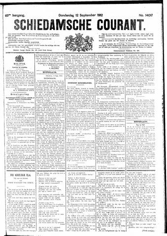 Schiedamsche Courant 1912-09-12