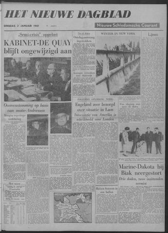 Nieuwe Schiedamsche Courant 1961-01-03