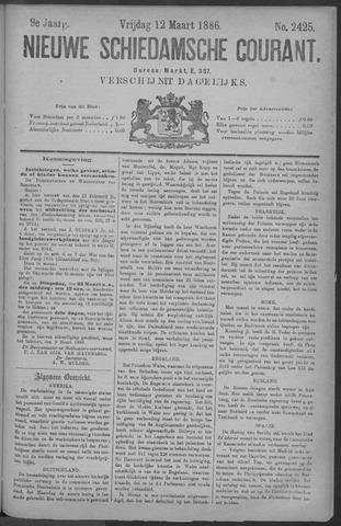 Nieuwe Schiedamsche Courant 1886-03-12