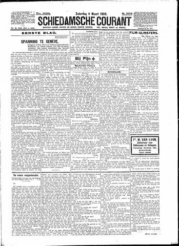 Schiedamsche Courant 1933-03-04