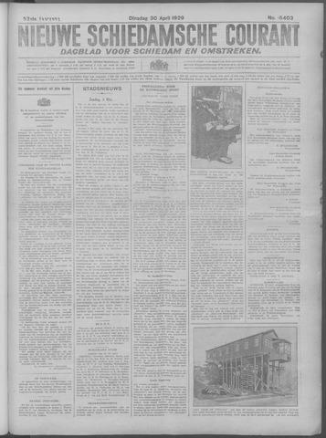 Nieuwe Schiedamsche Courant 1929-04-30