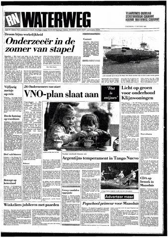 Rotterdamsch Nieuwsblad / Schiedamsche Courant / Rotterdams Dagblad / Waterweg / Algemeen Dagblad 1985-10-17