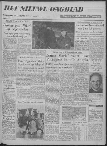 Nieuwe Schiedamsche Courant 1961-01-26