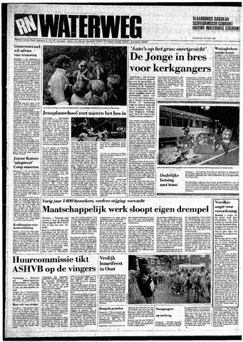 Rotterdamsch Nieuwsblad / Schiedamsche Courant / Rotterdams Dagblad / Waterweg / Algemeen Dagblad 1987-06-22