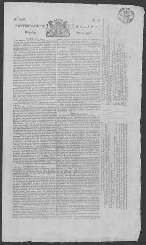 Rotterdamse Courant 1826-04-04
