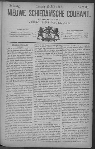 Nieuwe Schiedamsche Courant 1886-07-20