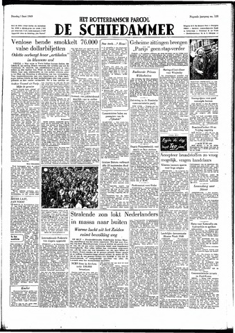 Rotterdamsch Parool / De Schiedammer 1949-06-07