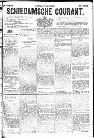 Schiedamsche Courant 1908-04-11