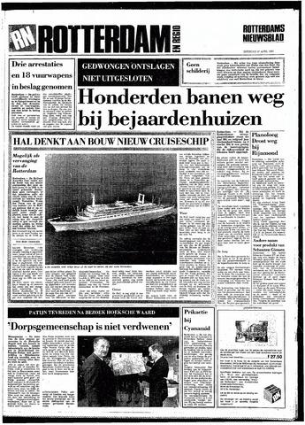 Rotterdamsch Nieuwsblad / Schiedamsche Courant / Rotterdams Dagblad / Waterweg / Algemeen Dagblad 1985-04-27