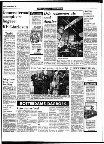 Rotterdamsch Parool / De Schiedammer 1970-12-04